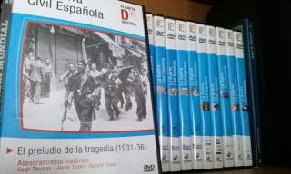 Dvd guerra civil espanola.