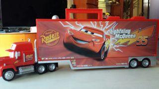 Camión maletin coches Rayo McQueen Disney