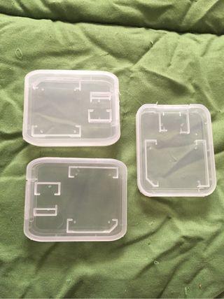 Cajas para Micro SD y SD