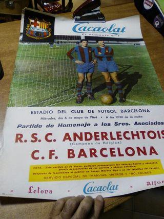 R.s.c. Anderlechtois C.F. Barcelona 1964