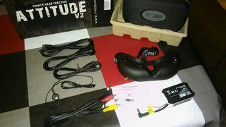 Gafas FPV Fatshark attitude + bateria + antena