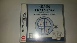 Brain training para Nintendo DS