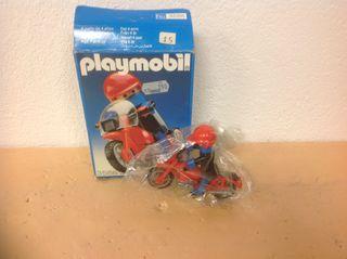Vendo Moto Caja Playmobil Geobra