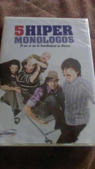 Dvd monologos,Nuevo.