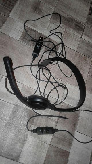 cascos para ordenador con conexión USB