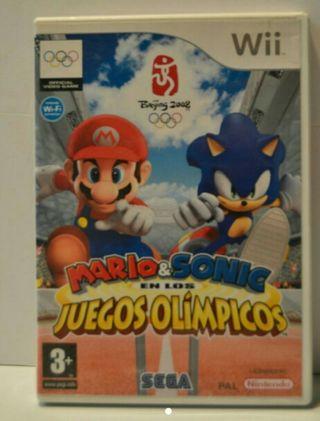 Mario y Sonic JJ. OO.