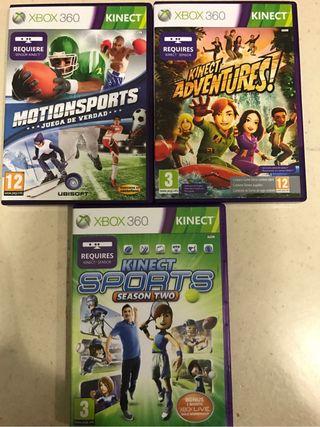 Pack de Juegos de KINECT de Xbox 360