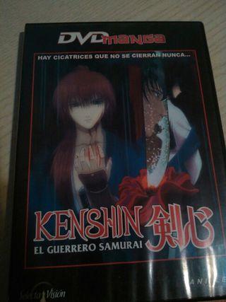 DVD Kenshin Capítulos 1-4