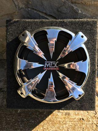 "Subwoofer bombo MTX 200w 12"""