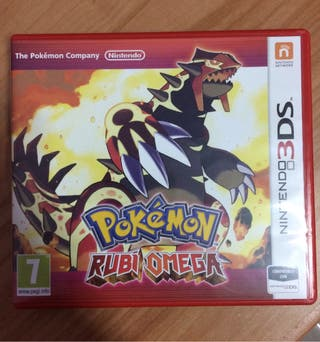 Pokemon Rubi Omega 3DS Cambio/vendo