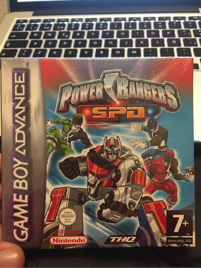 GBA Power Rangers S.P.D. ...
