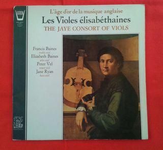 (LP) Jaye consort of viols - Les violes elisabethaines