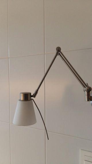 Lámpara aplique de pared táctil