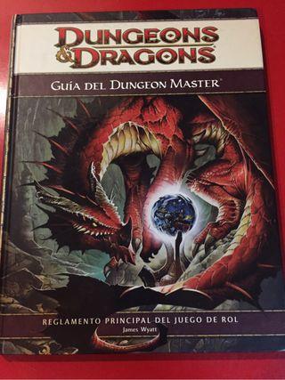Guia del dungeon master D&D 4