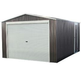Garaje en metal con puerta enrollable 15,61m²
