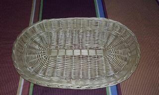 cesta mimbre ropa