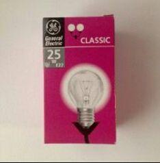 Pack 10 lámparas standar Osram 25 w