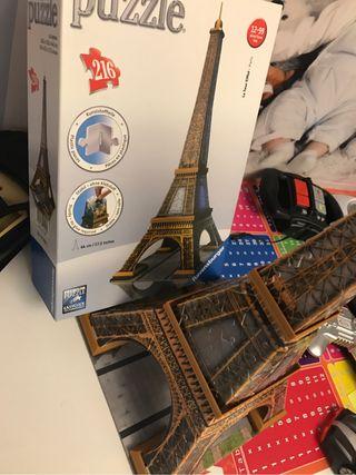 Puzzle la Tour Eiffel 3D