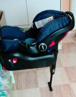silla grupo 0 con base