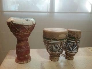tambores africanos petits per decorar