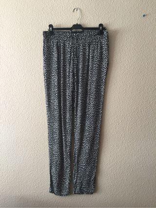 Pantalón de vestir estampado