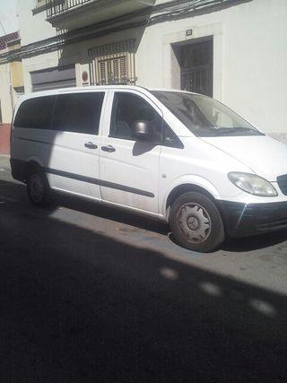 furgonera Vito 9 plazas