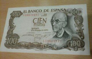 Billete 100 pesetas España