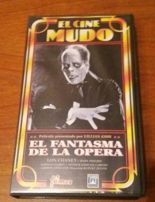 EL FANTASMA DE LA ÓPERA CINTA VHS