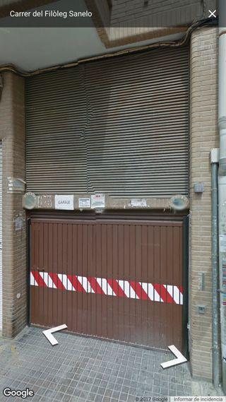 Plaza de garage en calle bilbao
