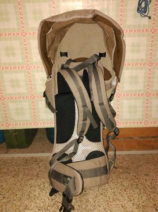 mochila portabebe de montaña