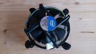 Ventilador y disipador CPU Intel a estrenar