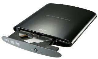 Grabadora dvd LG externa box