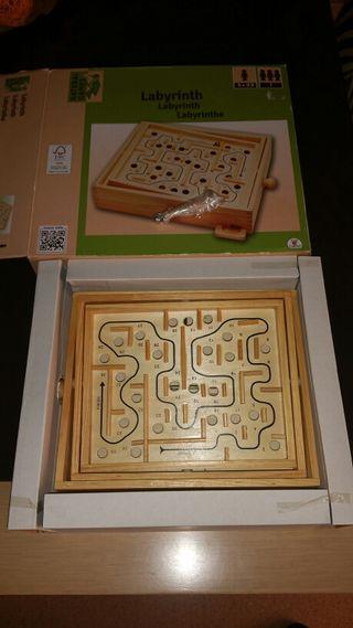 juego del laberinto