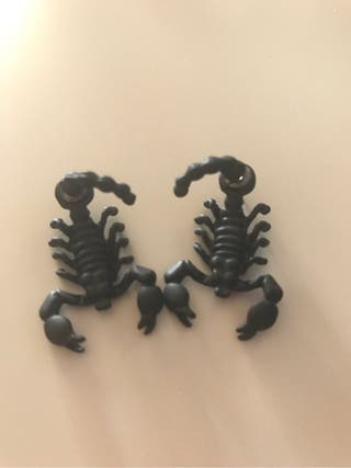 Pendientes escorpion