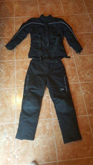 traje moto de cordura