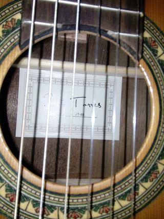 Guitarra clásica José Torres JT86