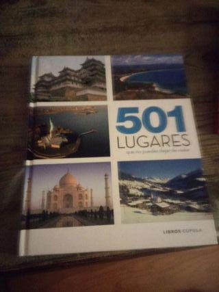 Libro 501 lugares que no puedes dejar de visitar