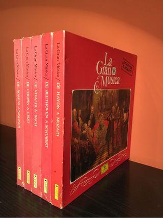 Discos vinilo Music. Clasica