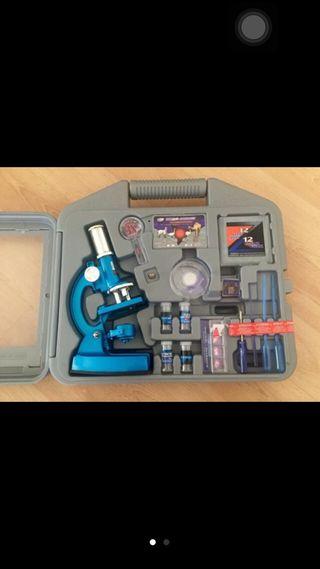 Nuevo!! Maletin microscopio