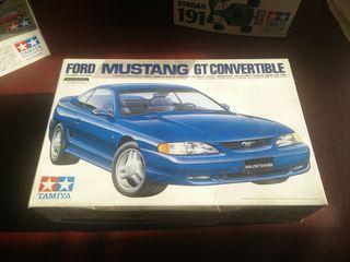 Maqueta Ford Mustang Gt Convertible