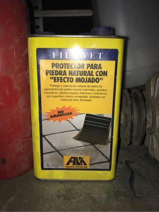 Protector piedra pavimento húmedo FilaWet