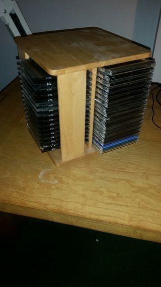 Portacds o porta dvd