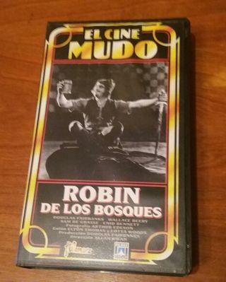 ROBIN DE LOS BOSQUES CINTS VHS