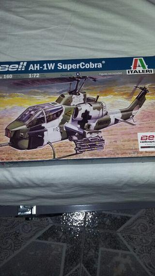 Helicóptero de colección super cobra