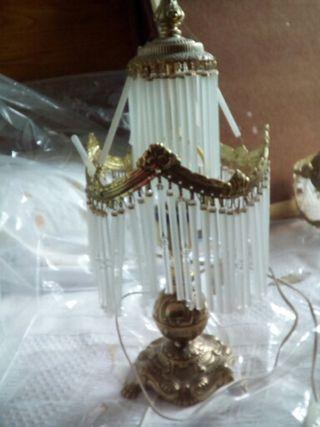 Juego de Lámparas de cristal.