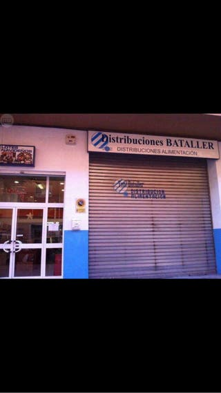 Local comercial+almacén 380m2
