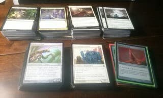 Mazo 381 cartas Magic LISTADO DISPONIBLE
