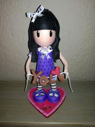 Muñecas gorjuss artesanales