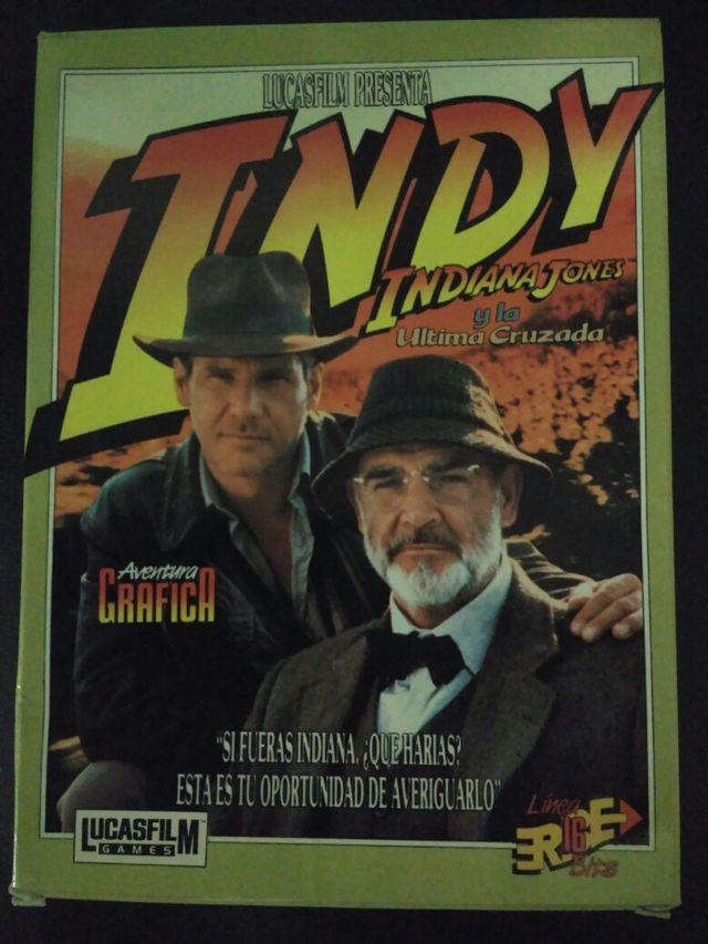 Juego para PC. Indiana Jones y la última cruzada
