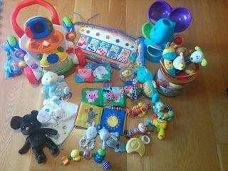 juguetes. bebe estimulación